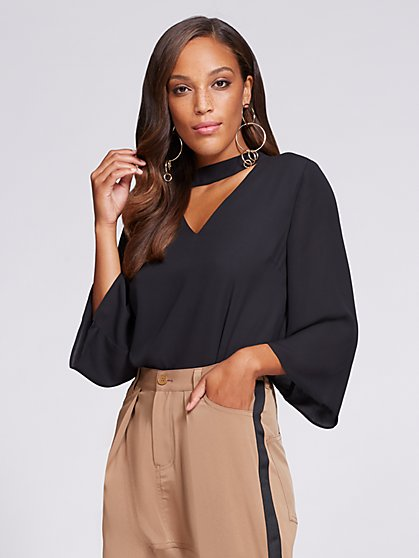 Gabrielle Union Collection  - Choker Blouse - New York & Company