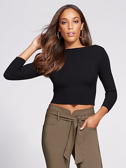Gabrielle Union Collection - Crop Sweater  - New York & Company