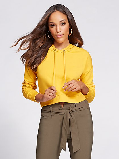 Gabrielle Union Collection - Crop Sweatshirt - New York & Company