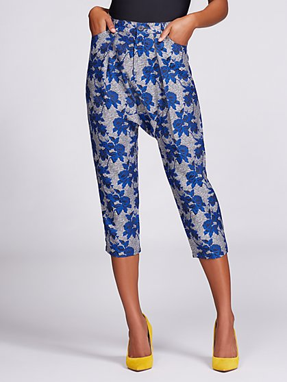 Gabrielle Union Collection - Floral Harem Pant - New York & Company