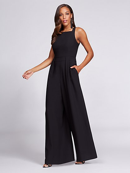 Gabrielle Union Collection - Halter Jumpsuit - New York & Company