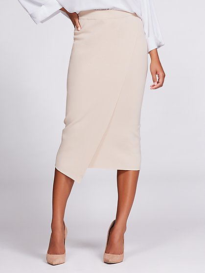 Gabrielle Union Collection - Knit Pencil Skirt - New York & Company
