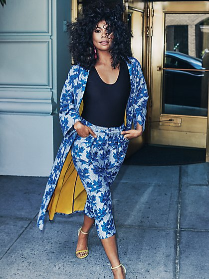 Gabrielle Union Collection - Long Floral Kimono - New York & Company