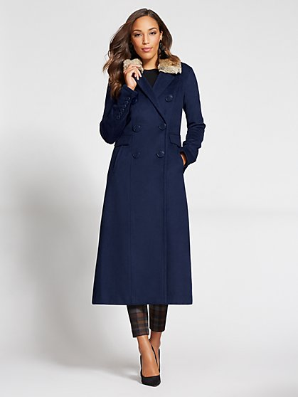 Gabrielle Union Collection - Long Wool Coat - New York & Company