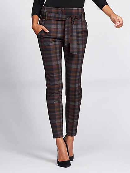 Gabrielle Union Collection - Paperbag-Waist Pant - Black - New York & Company