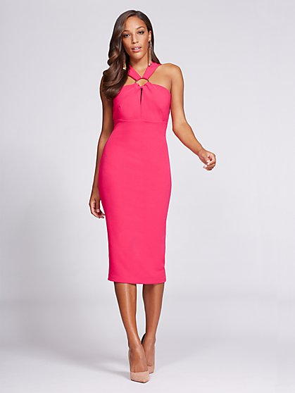 Gabrielle Union Collection - V-Neck Sheath Dress - New York & Company