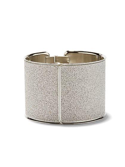 Glitter Cuff Bracelet  - New York & Company