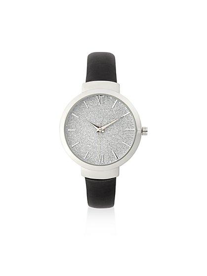 Glitter-Finish Watch  - New York & Company
