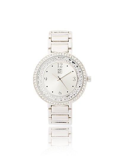 Glittering Link Watch - New York & Company