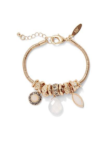 Glittering Rondelle Bracelet  - New York & Company