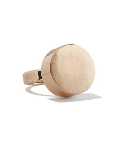 Goldtone Cabochon Ring  - New York & Company