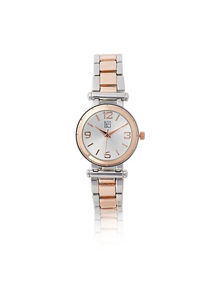 Goldtone & Silvertone Watch  - New York & Company