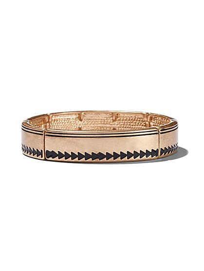 Goldtone Stretch Bracelet  - New York & Company