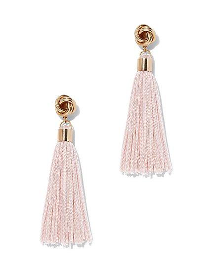 Goldtone Tassel Drop Earring - New York & Company