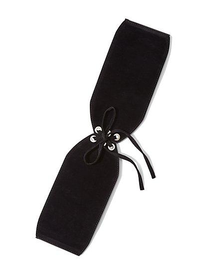 Grommet Corset Belt - New York & Company