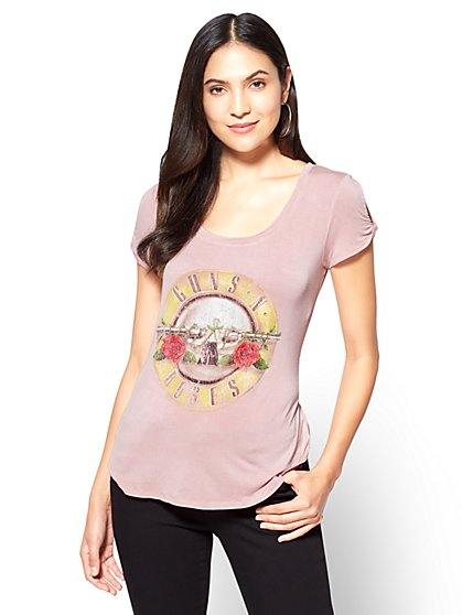 Guns N' Roses® Graphic T-Shirt  - New York & Company