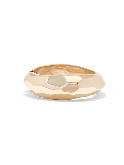 Hammered Cuff Bracelet  - New York & Company