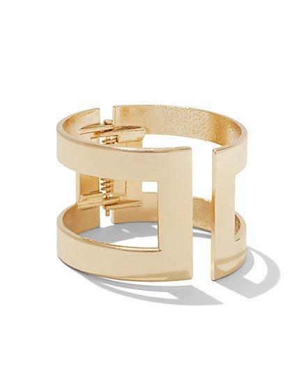 Hinge Open Cuff Bracelet  - New York & Company