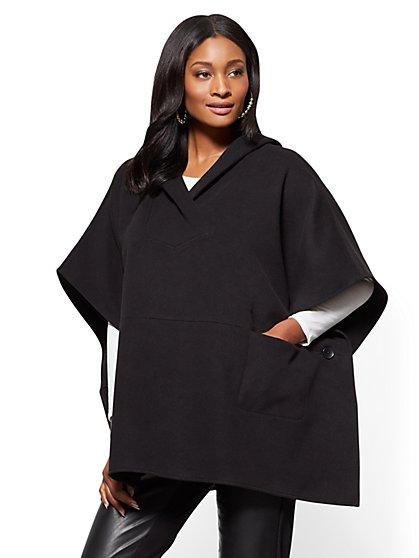 Hooded Poncho  - New York & Company