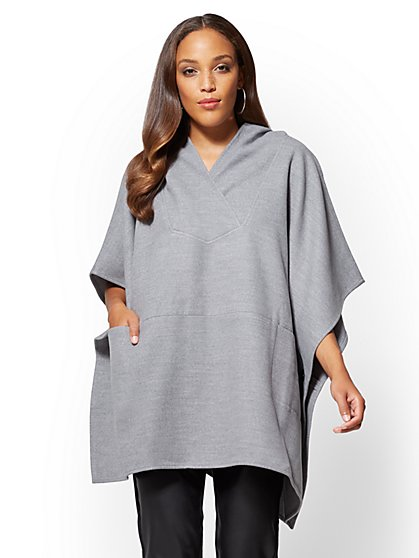 Hooded Poncho  - New York & Company