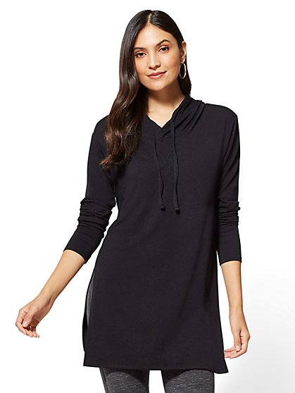 Hooded Tunic Top - New York & Company