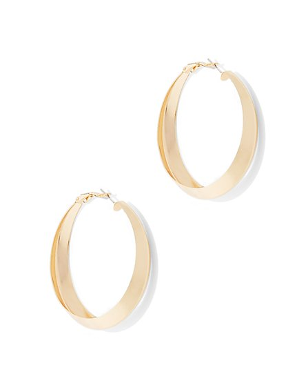 Hoop Drop Earring  - New York & Company