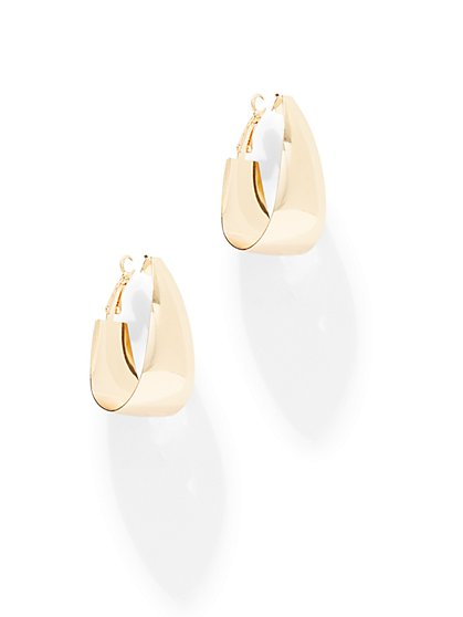 Hug Hoop Earring - New York & Company