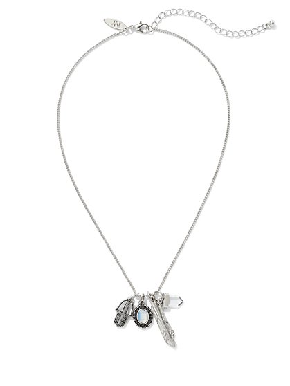 Interchangeable Charm Pendant Necklace  - New York & Company