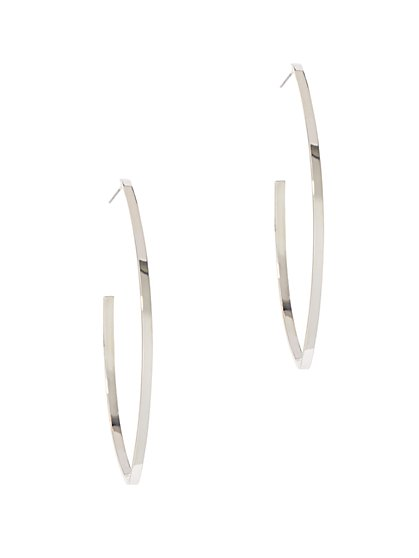 J-Shaped Hoop Earring  - New York & Company