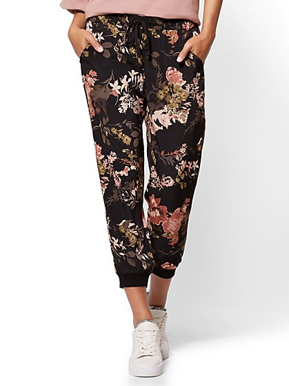 Jogger Pant - Floral - New York & Company