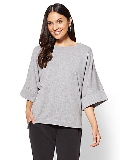 Kimono Sweatshirt - New York & Company