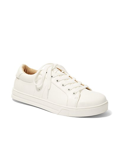 Lace-Up Sneaker  - New York & Company