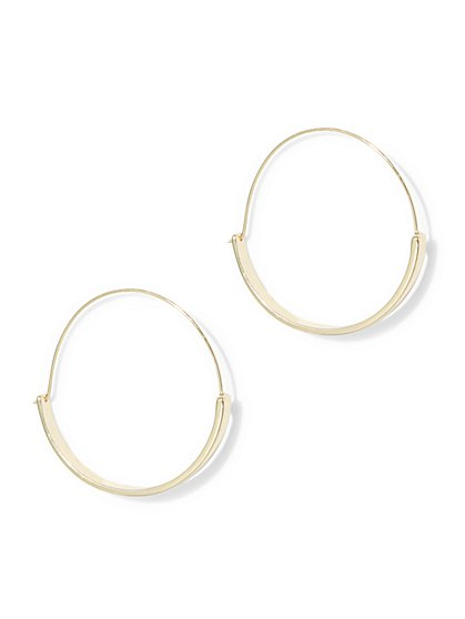 Latched Hoop Earring  - New York & Company