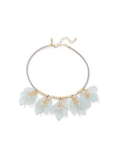 Leaf Choker Necklace  - New York & Company