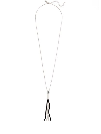 Linear Pendant Necklace  - New York & Company