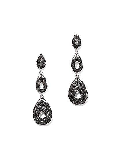 Linear Teardrop Earring - New York & Company