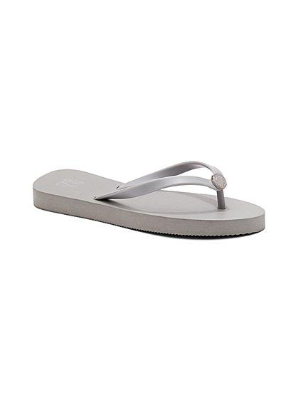 Logo Flip-Flop Sandal - New York & Company