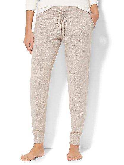 Marled Sweater Jogger - New York & Company