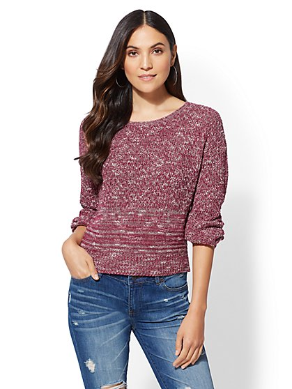 Marled Sweater - New York & Company