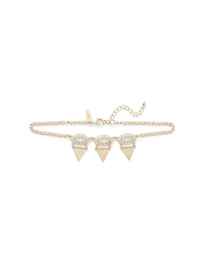 Marquise-Accent Choker Necklace  - New York & Company
