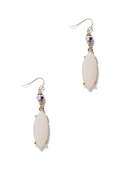Marquise Drop Earring  - New York & Company