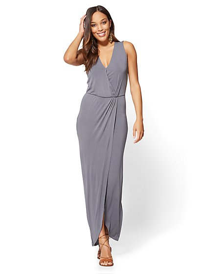 Maxi Wrap Dress - New York & Company