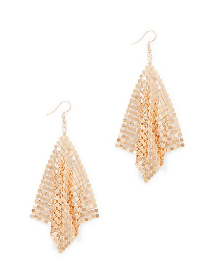 Mesh Drop Earring  - New York & Company