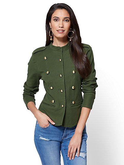 Military Jacket - New York & Company