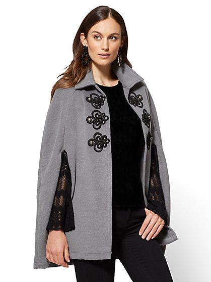 Military Poncho - New York & Company