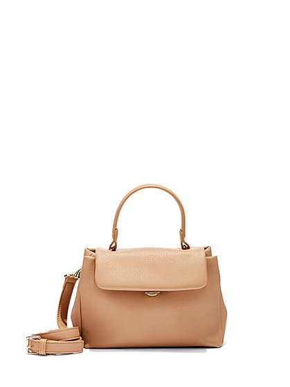 Mini Top-Handle Satchel - New York & Company