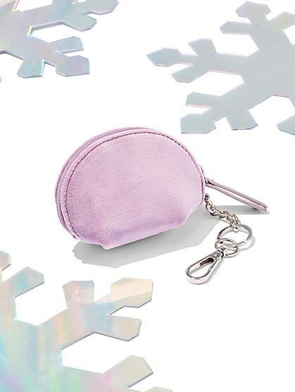 Mini Velvet Coin Purse - New York & Company