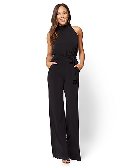 Mock-Neck Jumpsuit  - New York & Company