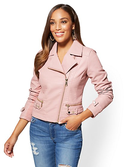 Faux Leather Jackets for Women | NY&C | Free Shipping*
