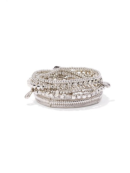 Multi-Row Stretch Bracelet  - New York & Company